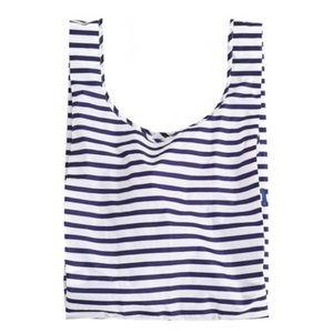 2X BAGGU Navy Stripe Bags